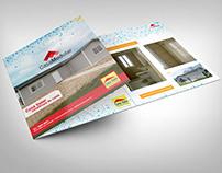 Diseño de Triptico para Casa Modular