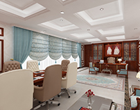 Qatar, Doha Director Office Concept Design