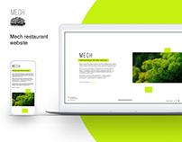 Mech restaurant website