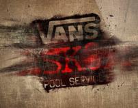 Vans SK8 Pool Service