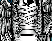 Winged Sneaker