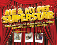 "Bayer: ""Me & My Pet Superstar"" Poster and Flyer"