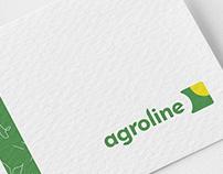 Agroline concept branding