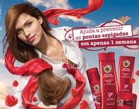 Herbal Essences - Beautiful Ends Campaign