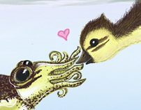Duckie Meets Cuttlefish