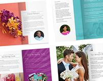 WeddingMoons Specialist - Branding and Brochure