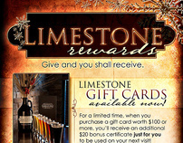Limestone Restaurant and Brewery Poster