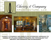 Christy & Company Architecture, LLC Flyer