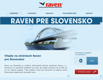 Raven for Slovakia / The project with true value