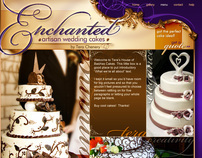 Enchanted Artisan Wedding Cakes Site