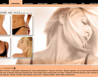 Site Design for a Beverly Hills Plastic Surgeon