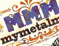 Cover Cd e Logo Design \ MyMetalMusic