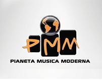 Logo Design e Web Design \ Pianeta Musica Moderna