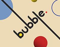 bubble. - Typeface