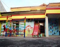 Al-Insan Surabaya Playgroup & Kindergarten Mural