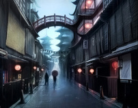 Backgrounds - Mattepainting