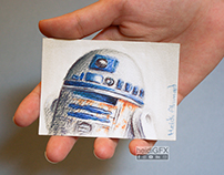 Traditional Illustration - Sketch Cards - Fan Art