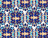Watercolor prints and patterns.