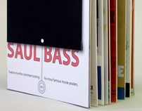 Saul Bass Commemorative Calendar