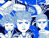 Ilustracion para Colectivo Tecolote Mexico