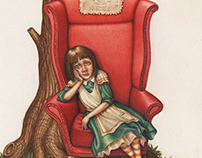 Alice in Wonderland pop-up