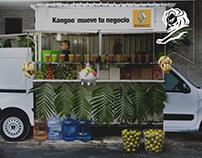 RENAULT KANGOO   STREET VENDORS.