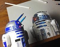 R2-D2 Star Wars Drawing