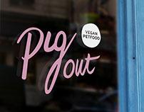 Pig Out - Vegan Petfood Packaging