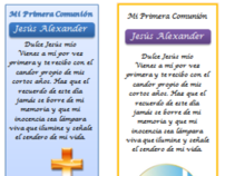 First Communion (Spanish)