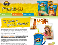 Frito-Lay - Tostito's Thins Fiesta 411 Facebook App