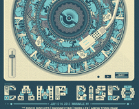 2012 Camp Bisco Official Poster