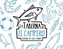 La Taberna de El Campero – Imagen corporativa