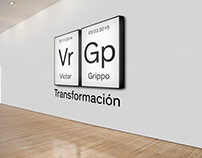 "Diseño exposición ""Victor Grippo: Transformación"""