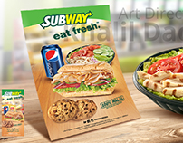 Subway Menu & flyer