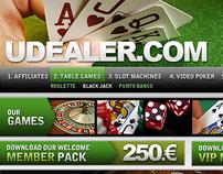 Udealer - Online casino