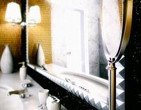 Neo-Baorque hotel design - Hotel Golden Ring