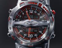 Speedometer Chronograph Watch