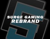 Surge Gaming Rebranding Project 2016