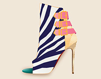 Illustration: Zebra Shoes