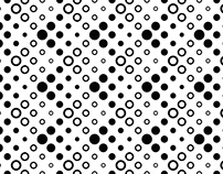 FREE Vector: Black and White Circle Background