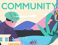 oppo GAMEcommunity animation