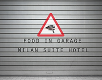 FOOD IN GARAGE MILAN SUIT HOTEL
