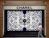 Window Display / Bleu de Chanel