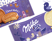 Design for Milka seasonal Packs