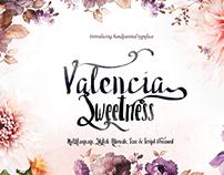 valencia 4ypeface