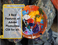5 Best Features of Adobe Photoshop.