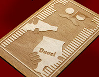 Duvel: Wooden illustrations