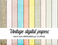 FREE PAPER PACK Vintage Textures