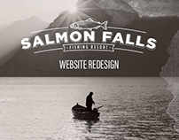 Salmon Falls Hotel Website Redesign
