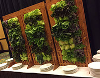 Vertical Salad Bar